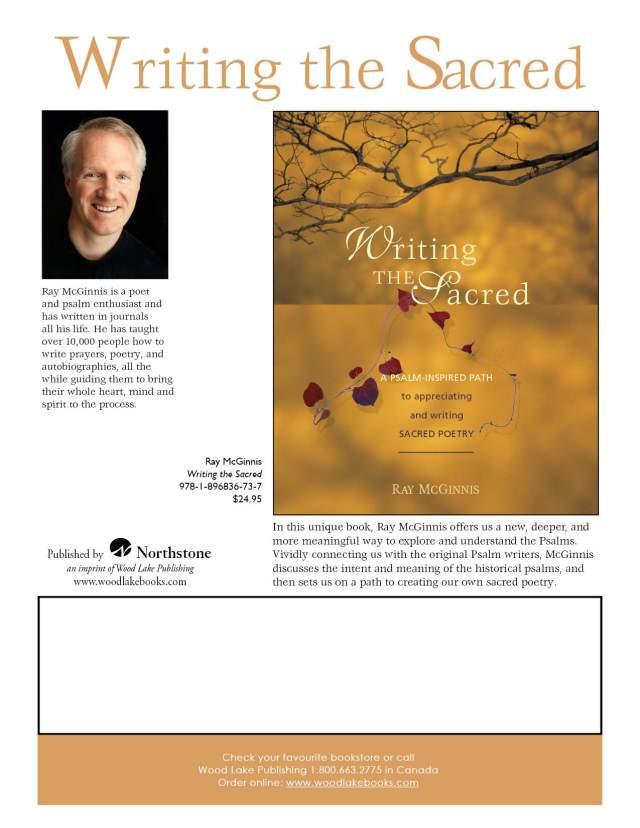 Writing the Sacred: A Psalm Writing Workshop – Faith and Arts Ottawa